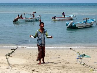 Yemeni fishermen
