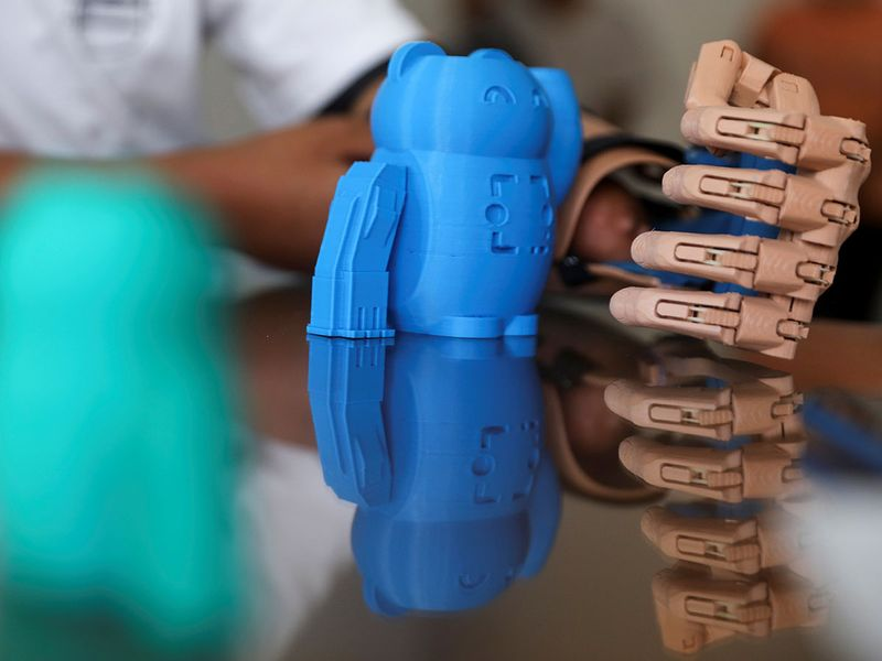 3D-printed prosthetic arms