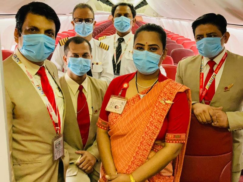 COVID-19: First fully vaccinated Air India crew flies from Delhi to Dubai