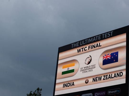 Cricket - rains