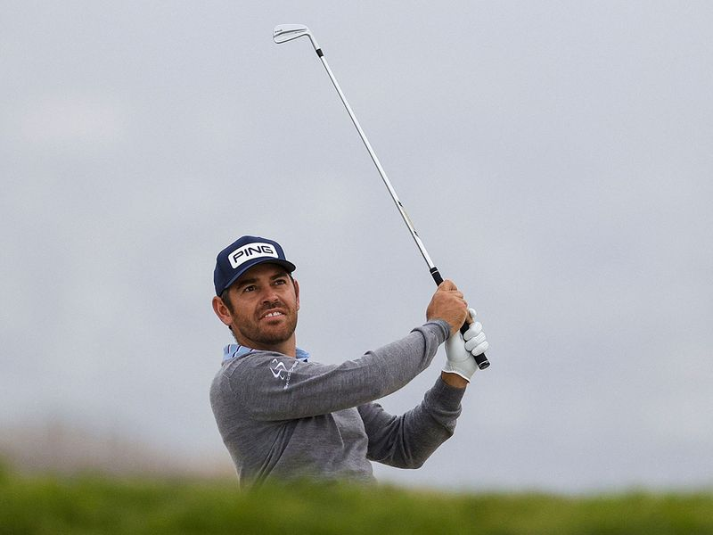 Louis Oosthuizen during the first round of the 2021 US Open at Torrey Pines