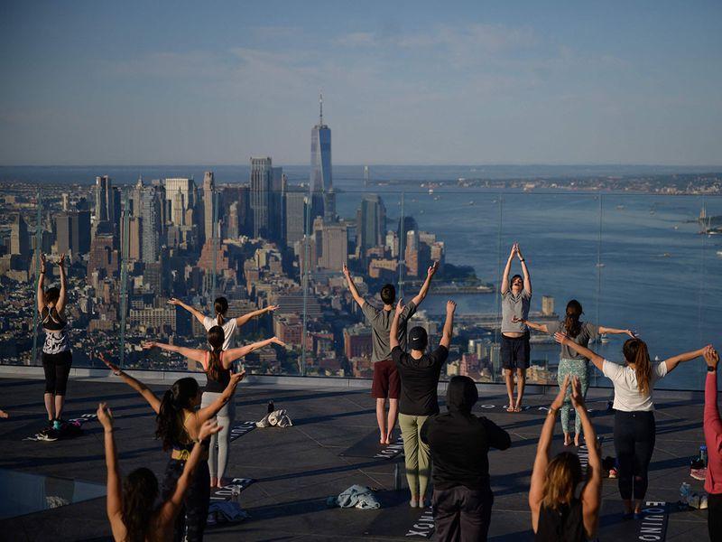 Sky high yoga gallery