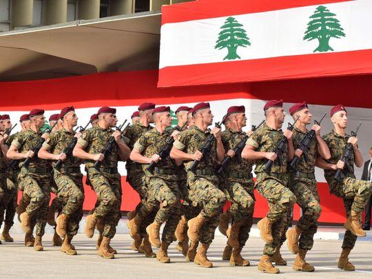 lebanon army-1624003393888