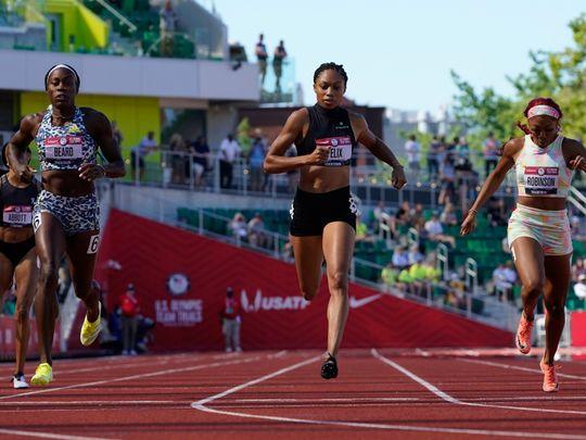 Athletics - Allyson Felix