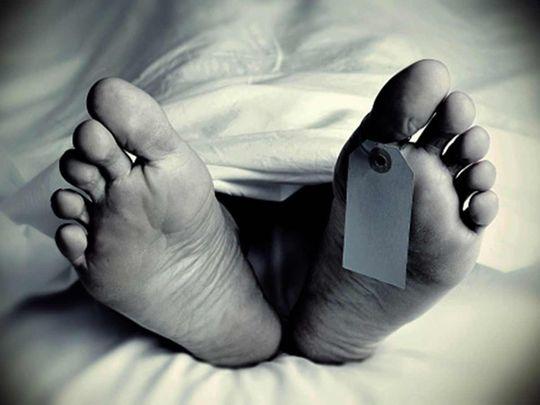 Dead body, morgue, mortuary