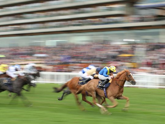Dream Of Dreams wins the Diamond Jubilee Stakes Action