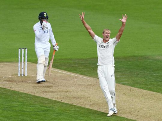 New Zealand's Jamieson takes five before India hit back in World Test Championship final