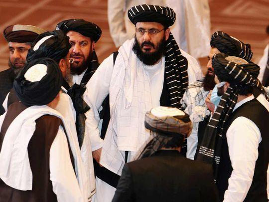 Taliban delegates