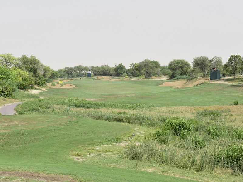 The Fire Course at Jumeirah Golf Estates is in impeccable condition for the EAGL Mini-Series