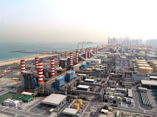 Dubai Electricity and Water Authority increases its capacity of desalinated water to 490 million imperial gallons per day