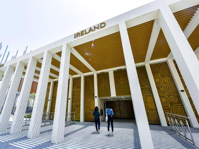ireland pavilion expo 2020