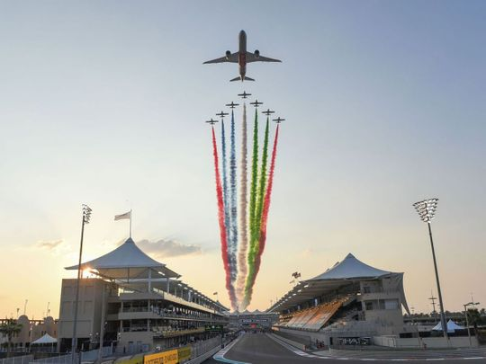 Fans will return to Yas Marina Circuit for the 2021 Abu Dhabi Formula One Grand Prix
