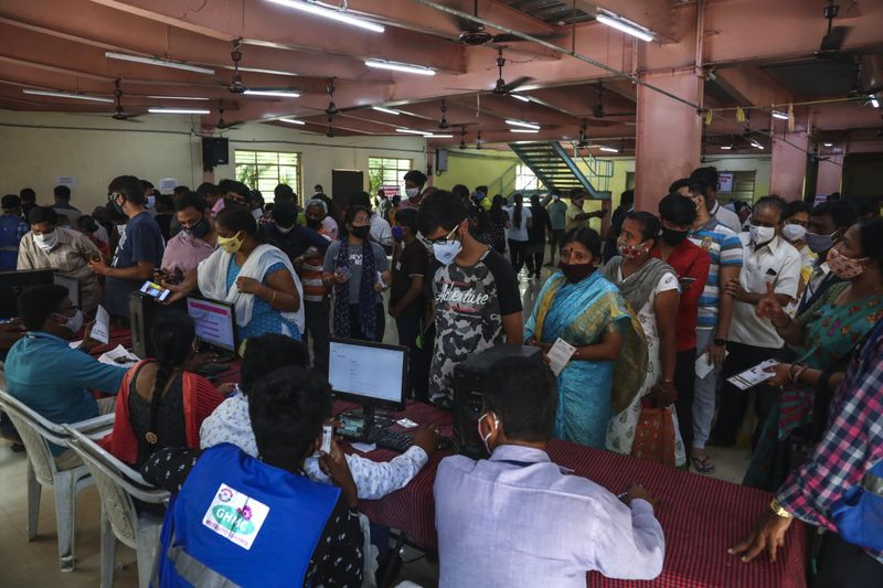 COVID-19: India hits daily vaccination record as free shots opened to all adults