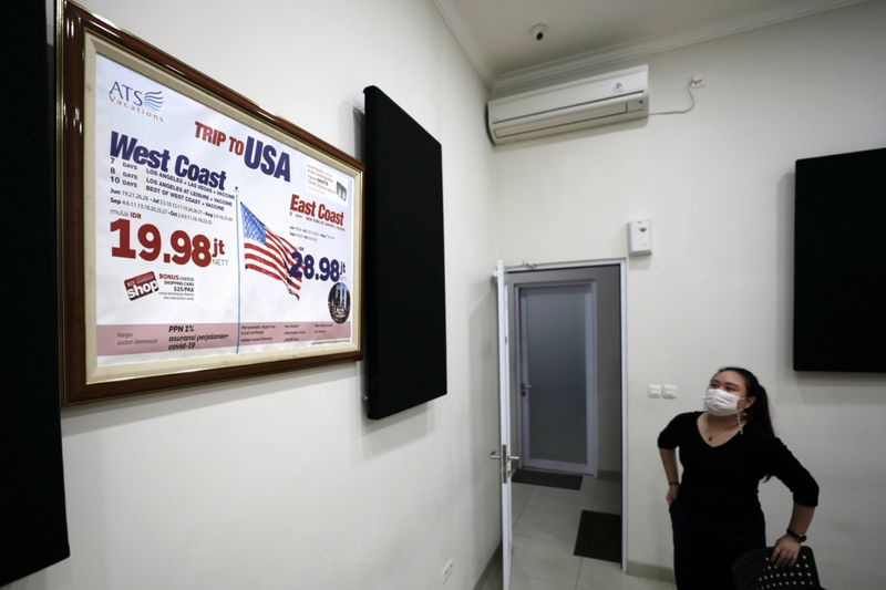 COVID-19: Indonesia travel agencies offer queue-beating US 'vaccination tours'