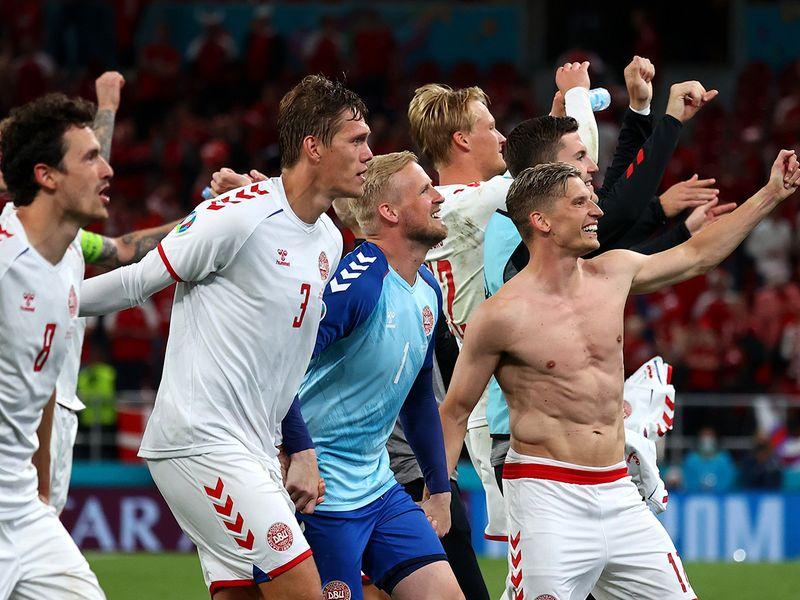 Euro 2020: Despair turns to joy as Denmark reach last 16