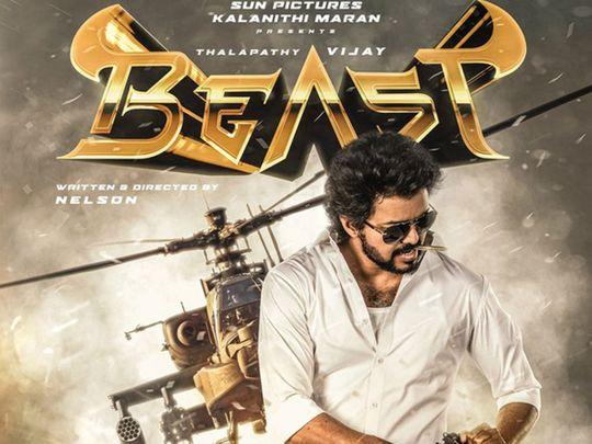 Vijay in 'Beast'