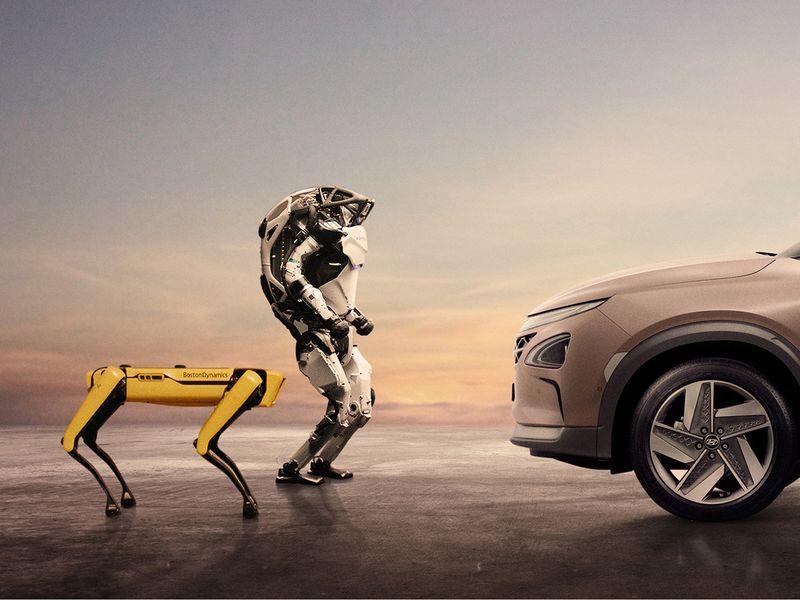 Hyundai buys robot dog maker Boston Dynamics