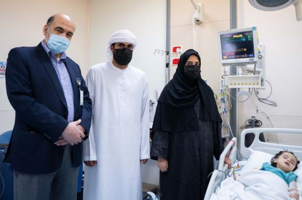 SEHA Afra with Dr Omar and her parants-1624439846594