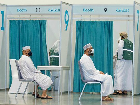 Stock Oman Vaccine