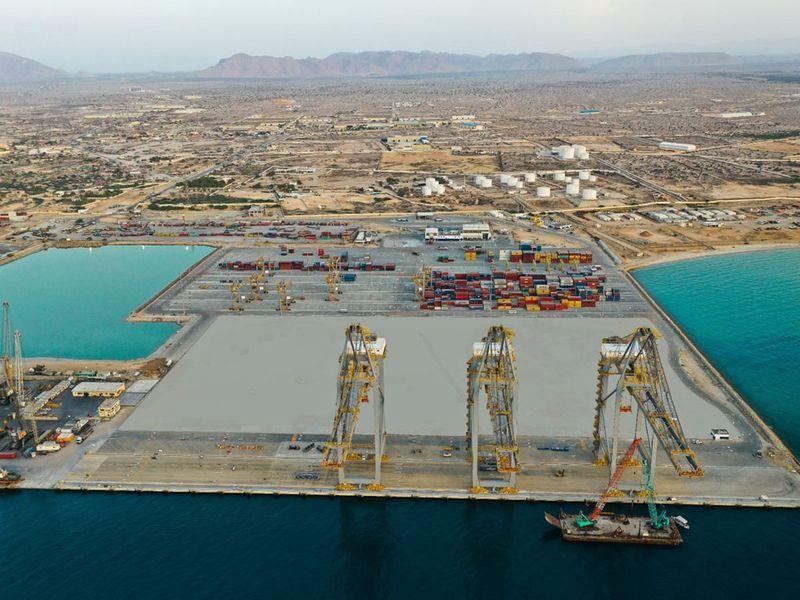 Berbera port container terminal