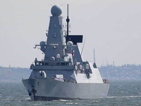 British Royal Navy Defender Black Sea