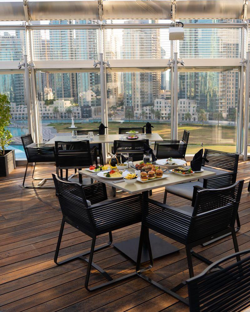 Burj Club Breakfast