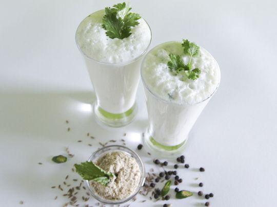 Peppery-herby buttermilk