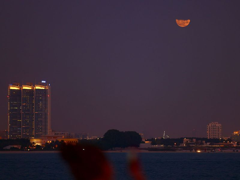 Strawberry moon in UAE gallery