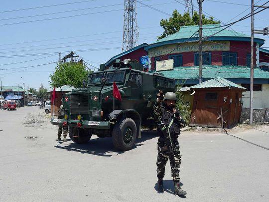 india security kashmir
