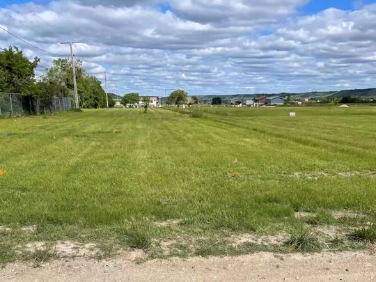 A field near the former Marieval Indian Residential School, where the Cowessess First Nation say they found the unmarked graves of hundreds of people, is seen near Grayson, Saskatchewan, Canada.