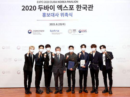 K-pop group 'Stray Kids' to become ambassadors of Korean Pavilion at Dubai Expo 2020