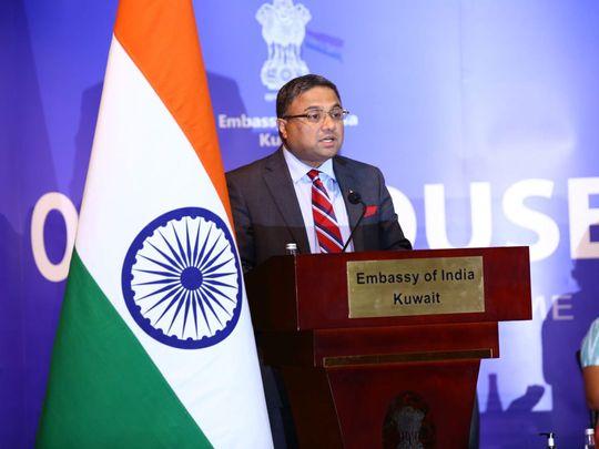 Indian Ambassador to Kuwait Sibi George