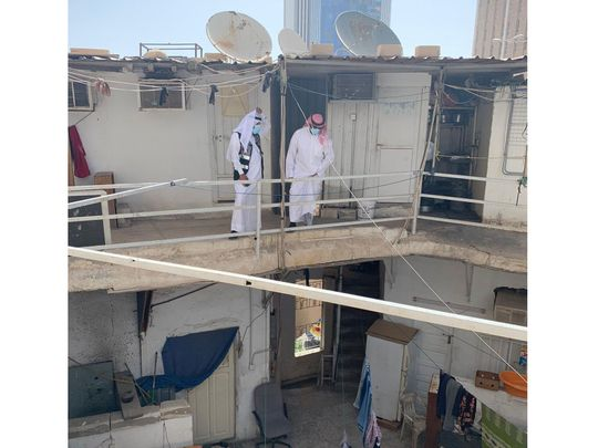 Kuwait labourer