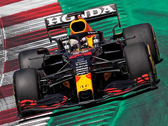Max Verstappen stormed to pole position for the Styrian GP