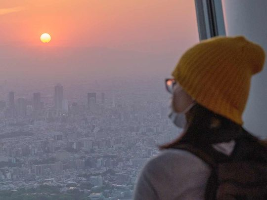 observation deck of the Tokyo Skytree in Tokyo