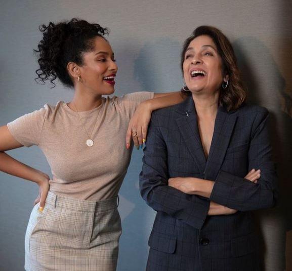 Masaba Gupta with her mother Neena Gutpa