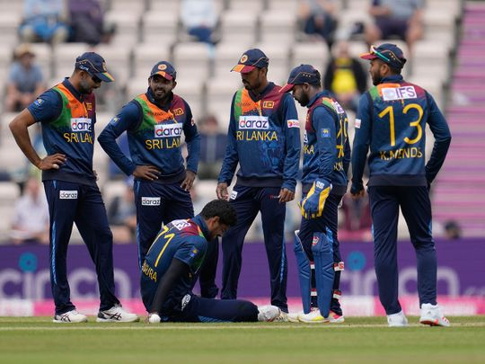 Sri Lanka were thumped by England in the T20 series
