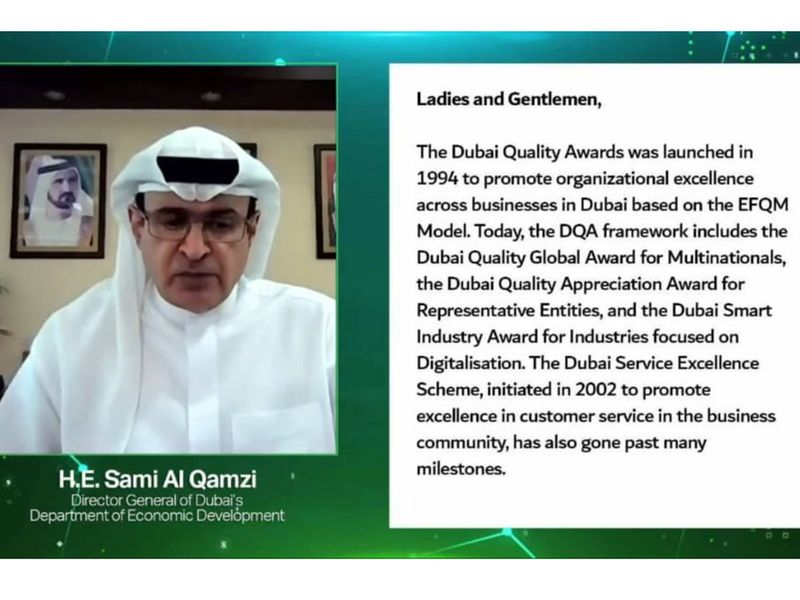 Dubai Business excellence awards