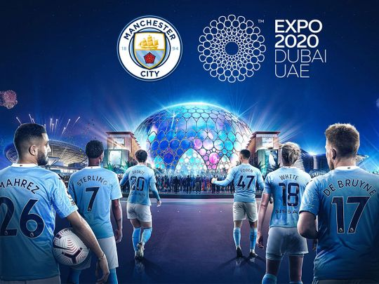 Expo 2020 Dubai and Manchester City's City Football Group have joined forces