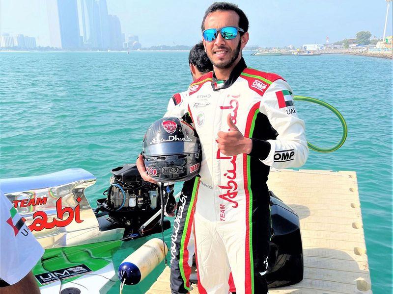 Mansoor Al Mansoori ready for his Team Abu Dhabi debut in Lithuania