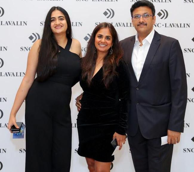 NAT Manish Gupta and his family-1624865052166