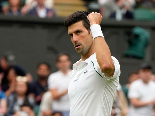 Novak Djokovic got off to a winning start at Wimbledon