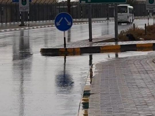 Rain in Al Ain