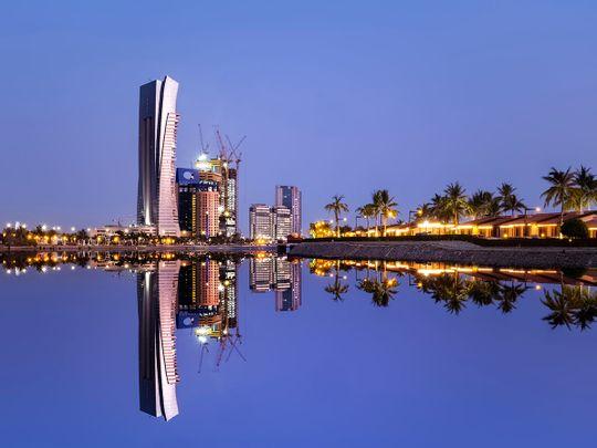 Stock Jeddah skyline