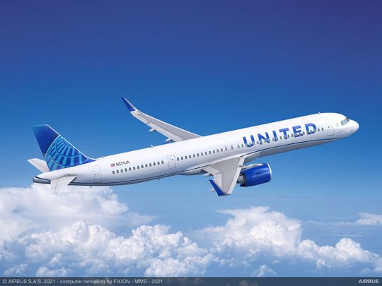 A321 neo United Airlines