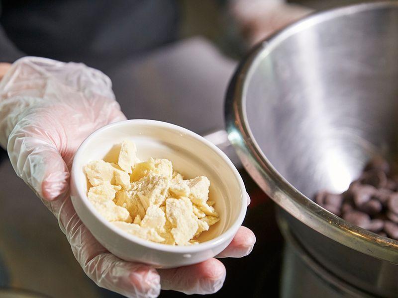 Add coco butter