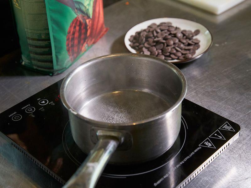 Double boiler method