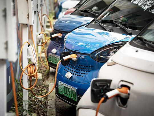 SAIC-GM-Wuling Automobile Co. electric vehicles (EVs)