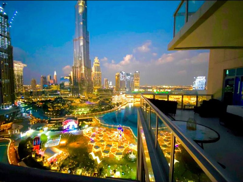 Stock - Dubai short stay home (Al Bahar Downtown Apartments)