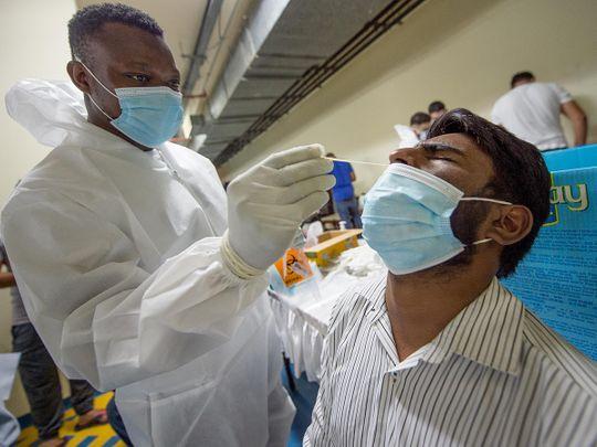 Stock Vaccine and PCR UAE